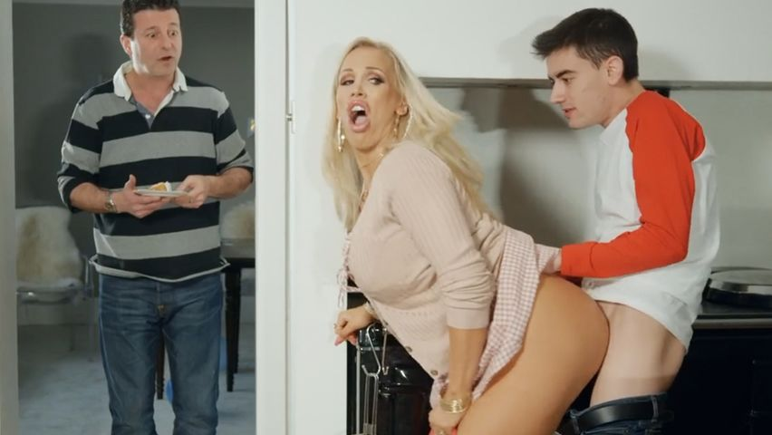 Step Mom Fucks Son Yoga Pants